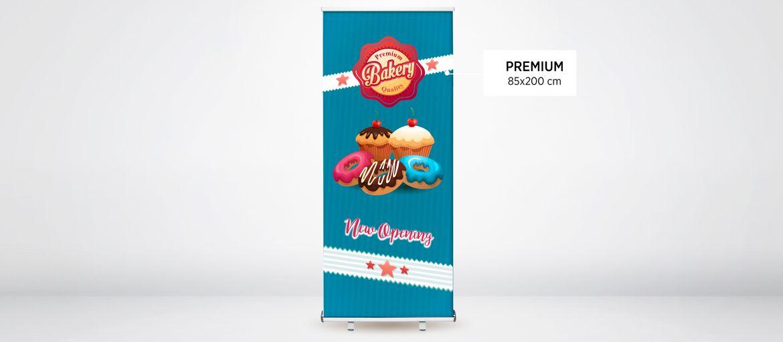 Online printing Premium Roll up