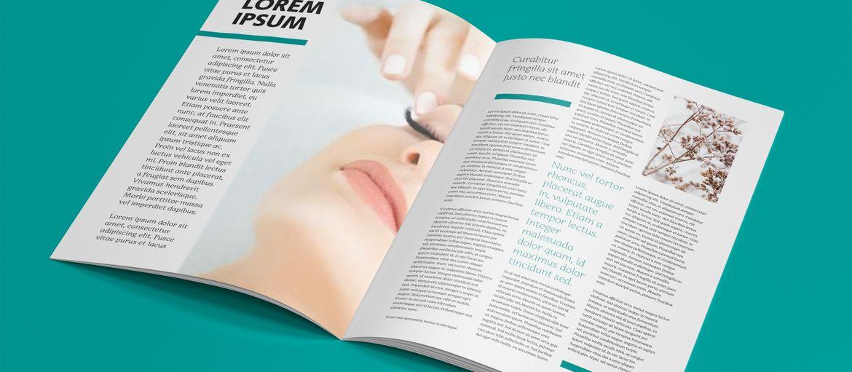 Stampa online brochure estetica