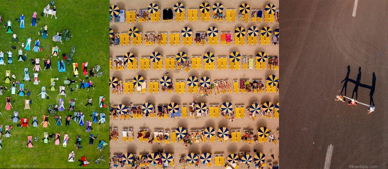 Karolis Janulis - To be a Bird: Karolis Janulis è un fotografo di origine lituana.  Le sue fotografie sono caratterizzate da un punto di vista diverso dal solito, quello di un...uccello. Il progetto, chiamato appunto to be a bird è caratterizzato da immagini scattate grazie all'a…