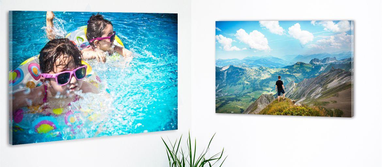 carta fotografica vetro acrilico angolo