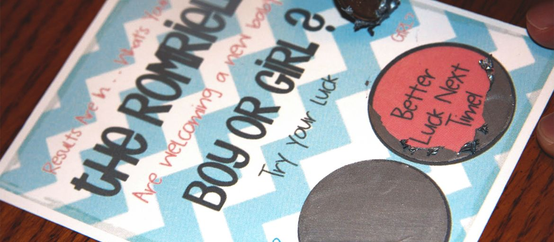 Stampa online Scratch Card Baby