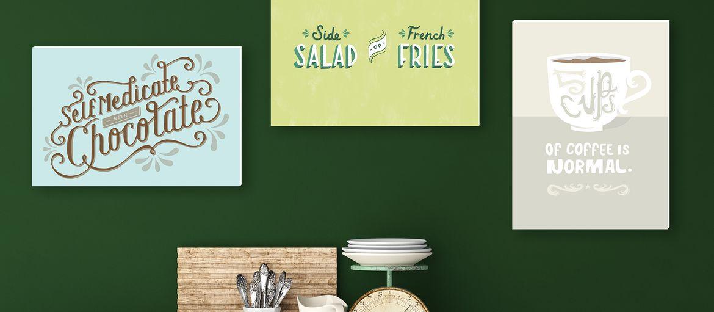 Stampa online pannelli cucina