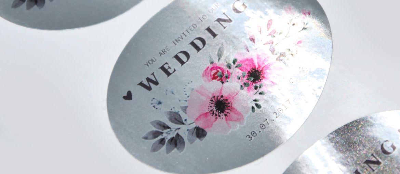 etichette argento matrimonio
