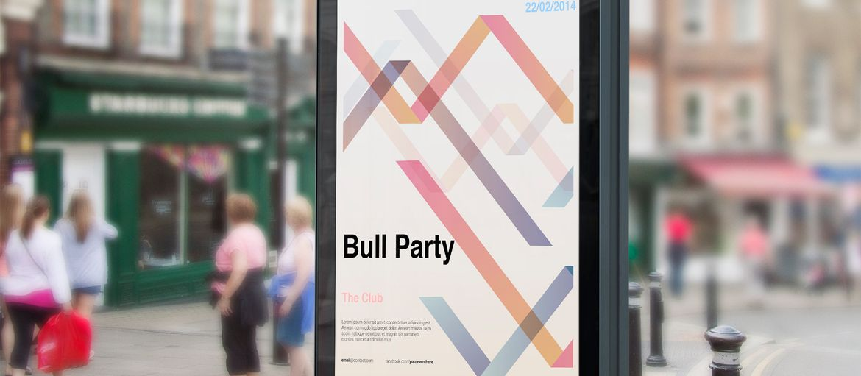 Online printing Event flyer