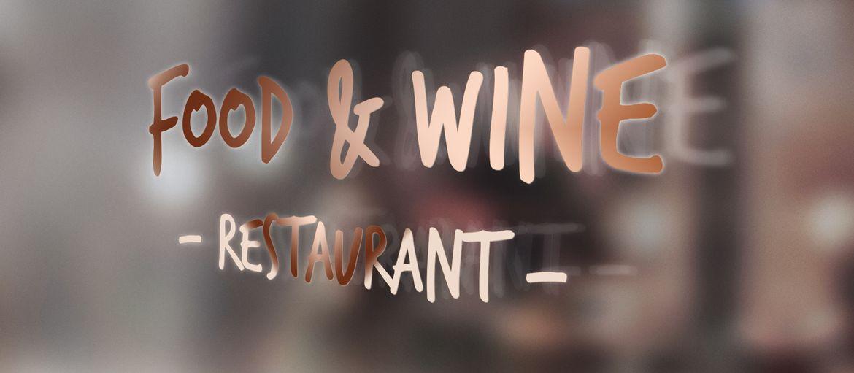 Online printing Food and wine