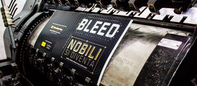 Bleed Lavorazione