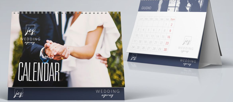Calendario Wedding