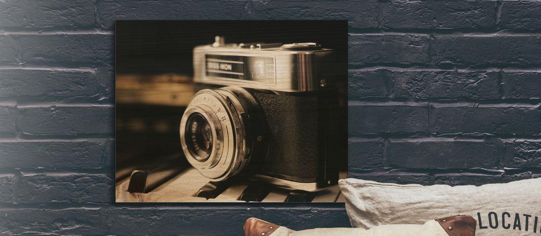 Stampa online legno vintage