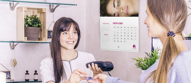 Stampa online Calendario Punto Metallico Beauty