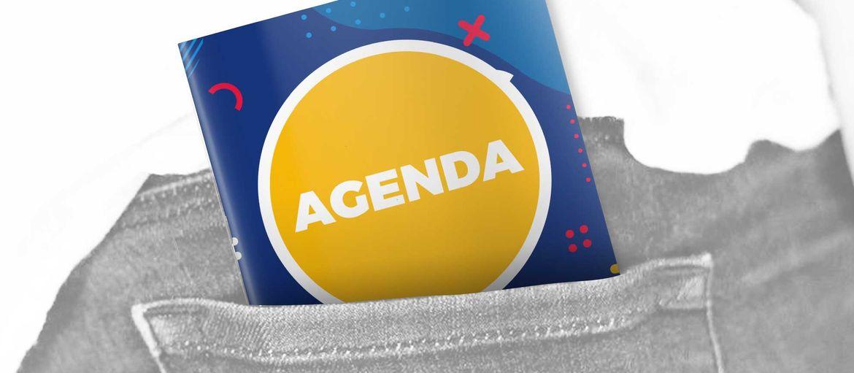 Mini Calendrier Agenda: Impression agenda de poche. Heure de surprendre ceux qui sont autour de nous avec un produit jeune, rapide, trendy et surtout pratique et fascinant. Les agendas personnalisé est l'instrument de communication efficace pour graver le nom de votre entreprise dans la mémoire de vos clients.