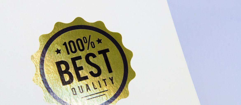 etichette oro quality