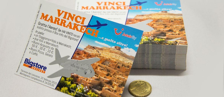 Imprimer en ligne scratch marrakech