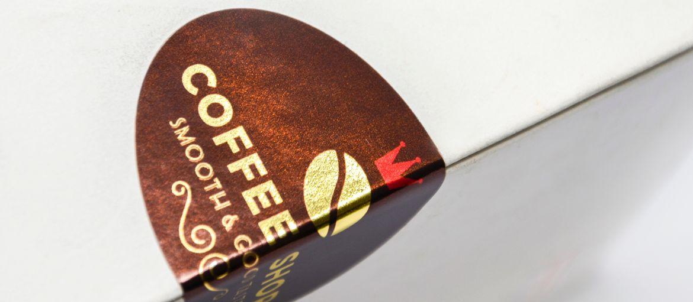 etichette oro caffe