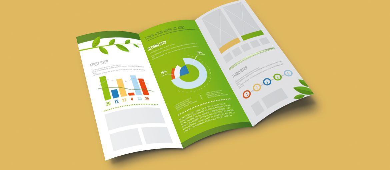 Stampa online depliant presentazione