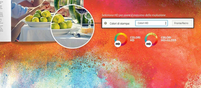 Stamperia Online - L'HD arriva in Tipografia: Sprint24 è la stamperia online dove la tua fantasia può diventare realtà! Metti nero su bianco le tue idee e pubblicizza la tua attività con stile!