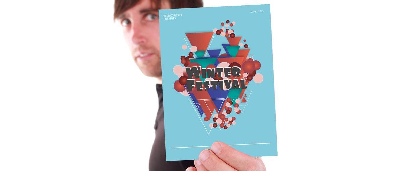 Stampa online volantino festival