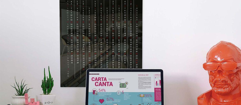 Calendario Poster Cement