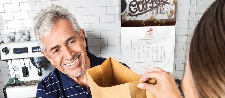 Online printing Stapled calendars