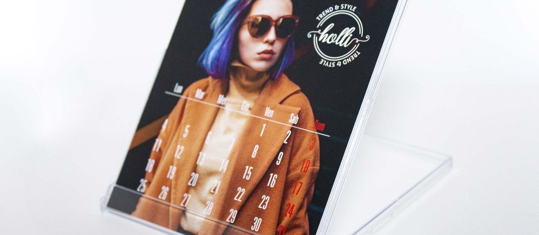 Stampa online Calendario con basetta fashion