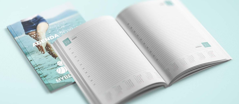 Online printing Agenda Mybeauty