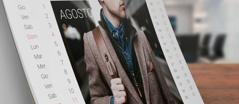 Stampa online Calendario Da Tavolo Uomo