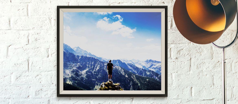 carta fotografica paesaggio