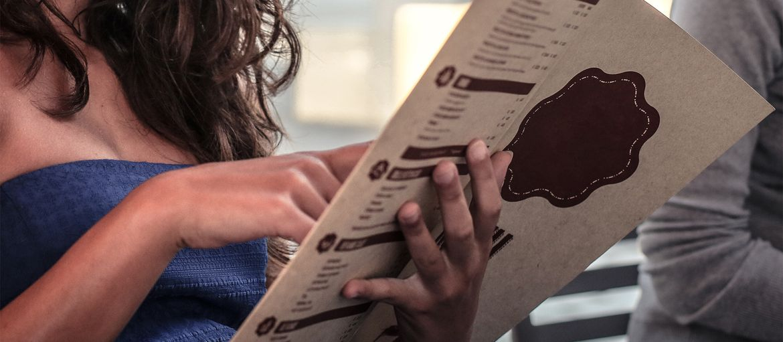 Stampa online Menù cafe