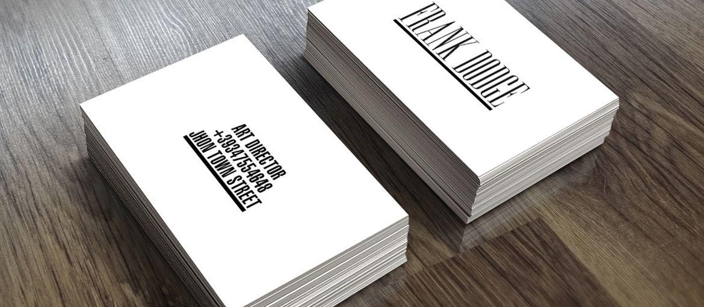 Imprimez des cartes de visite en ligne: Imprimez des cartes de visite en ligne: Profitez de notre aide à la configuration et économiser de l'argent en imprimant des cartes de visite!