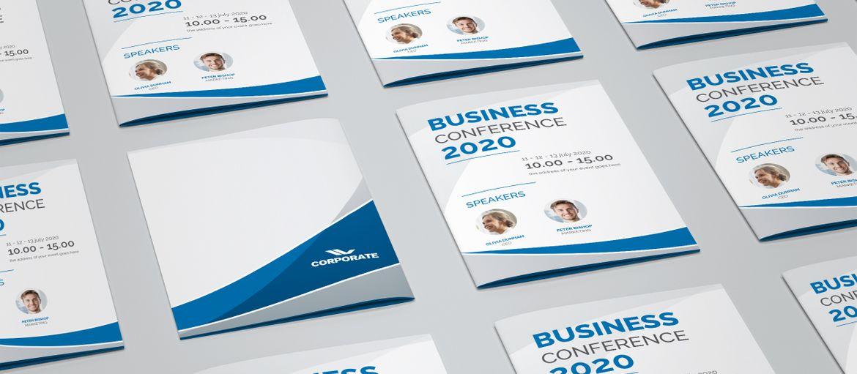 Stampa online brochure conferenza