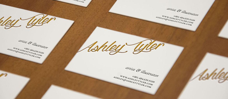 Letterpress Ashely